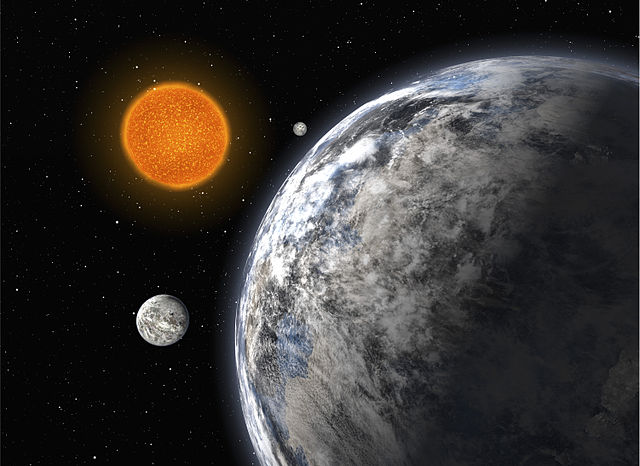 Trio of Super-Earths (artist's impression)