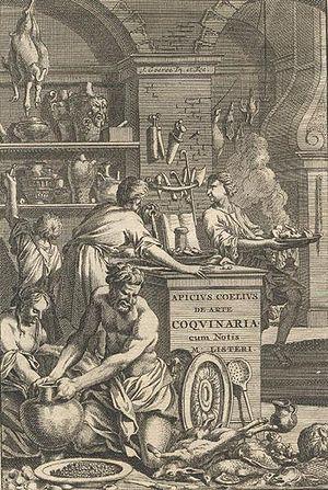 English: Apicius, De Opsoniis et Condimentis (...