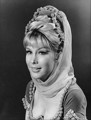 English: Publicity photo of Barbara Eden from ...