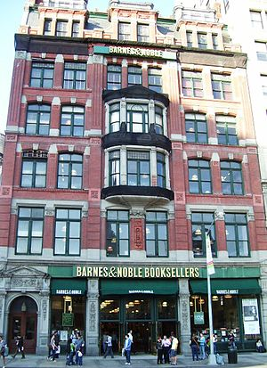 Barnes & Noble's Union Square store in Manhatt...