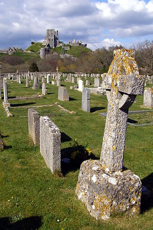 Gods Acre, consecrated ground in Corfe Castle ...