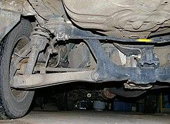 Suspension (vehicle)  Wikipedia