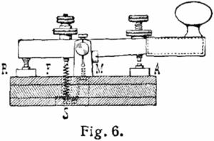 A Morse key