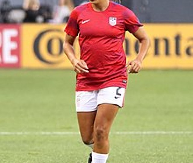 Pugh With The United States Against New Zealand On September 19 2017