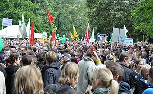 Deutsch: Protestkundgebung gegen Stuttgart 21 ...