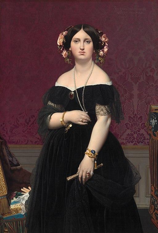 Moitessier (Ingres, 1851) NGA
