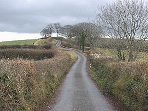English: The long and winding road
