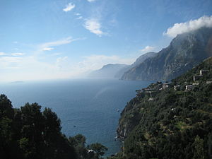 Amalfi Coast, Italy (10/10/2007, taken from bus)