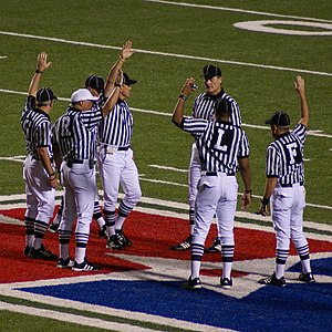 Some American Football referees from a Razorba...