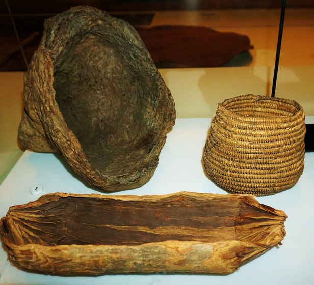 Australian Museum - Coolamons - Aboriginal Carrying Vessels