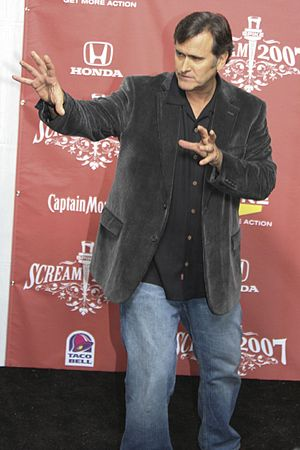 American Actor Bruce Campbell at the 2007 Scre...