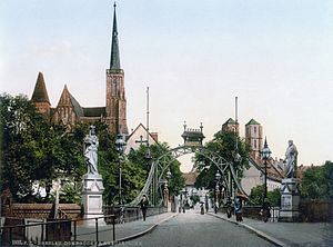 Church Bridge, Breslau, Silesia, Germany (i.e....