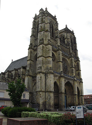 Abbey church of Corbie, from Wikimedia Commons