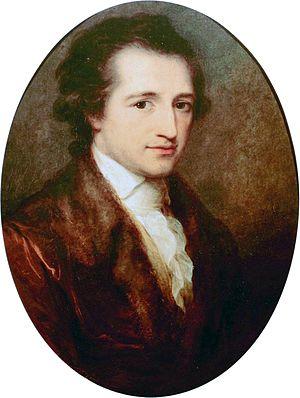 Deutsch: Bildnis Johann Wolfgang von Goethe; W...