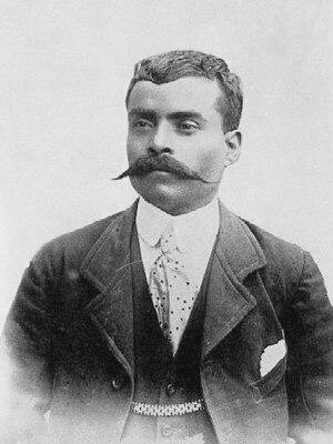 Français : Général Emiliano Zapata - 1914 lice...