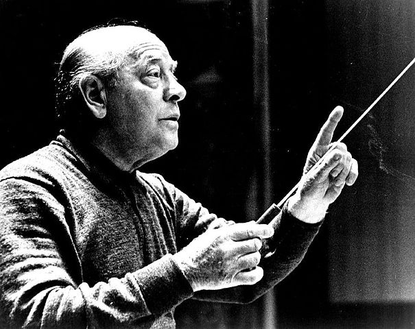 Eugene Ormandy Conducting