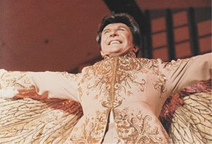 A photo I took of Liberace in 1983.