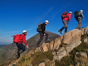 English: Mountain Leader Trainees from Ogwen C...