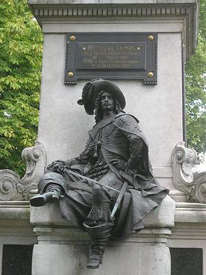 Statue Alexandre Dumas à Paris