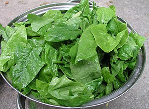 1 kg of Spinach leaves separated from the stem...