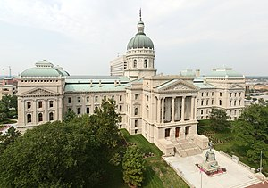 Deutsch: Indiana State Capitol English: Indian...