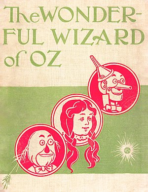 The back cover of The Wonderful Wizard of Oz, ...