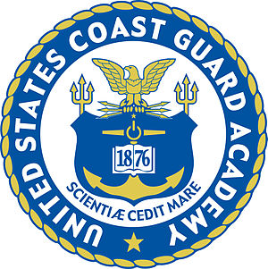 English: United States Coast Guard Academy seal