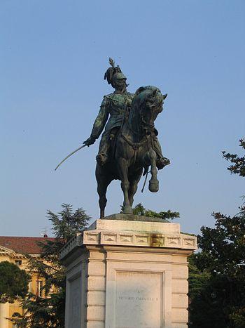 English: Vittorio Emanuele II king of Italy. V...