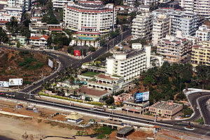 The city overlooking the Beach Road. 4.Visakha...