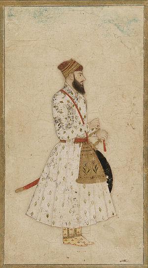 A Nawab of Mughal dynasty, India, 17th-18th ce...