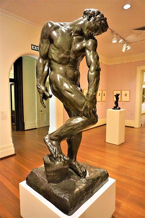 Adam by Auguste Rodin - Art Gallery of Western Australia