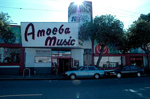 English: Amoeba Music on Haight Street, San Fr...