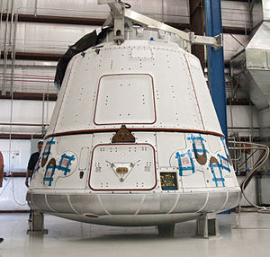 COTS combined demo 2 & 3 spacecraft