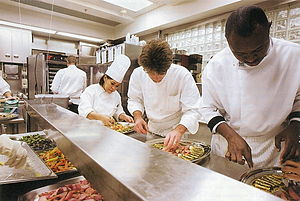English: White House Executive Chef, Cristeta ...
