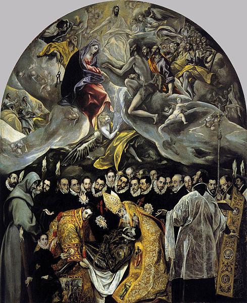 Archivo:El Greco - The Burial of the Count of Orgaz.JPG