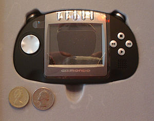 The Gizmondo handheld video game unit. United ...
