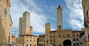 English: Towers of San Gimignano