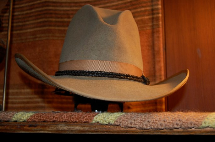 Stetson cowboy hat 1920s renovated 6
