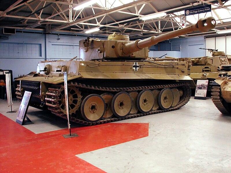 File:Tiger I 2 Bovington.jpg