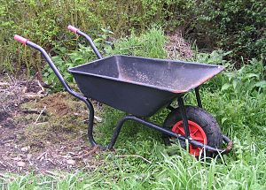 Wheelbarrow. Photo by sannse.