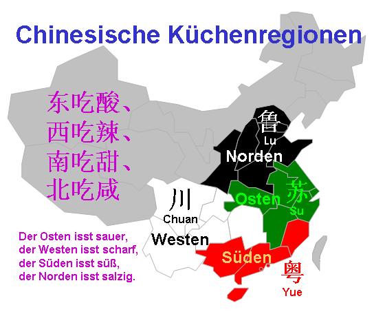 Chinas Regionalküchen
