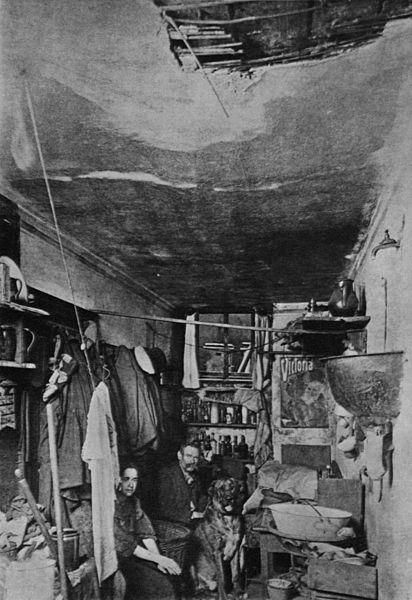 Berliner Kellerwohnung, 1905