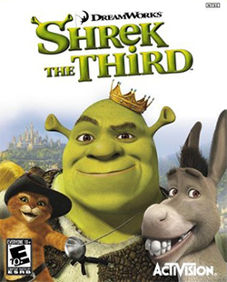 Shrek the Third video game console neutral boxart.png