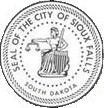 Official seal of City of Sioux Falls