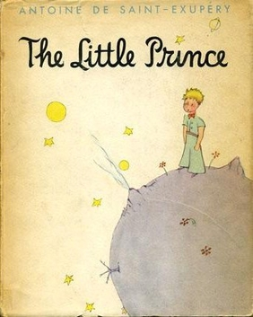 "Book cover of ""The little Prince"" by Antoine de Saint-Exupéry"
