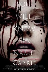 Poster for 2013 horror remake Carrie