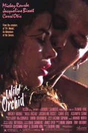 Film poster for Wild Orchid (film) - Copyright...