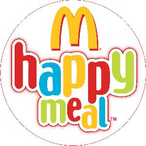 Happy Meal logo, English