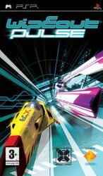 Wipeout Pulse PSP box art cover
