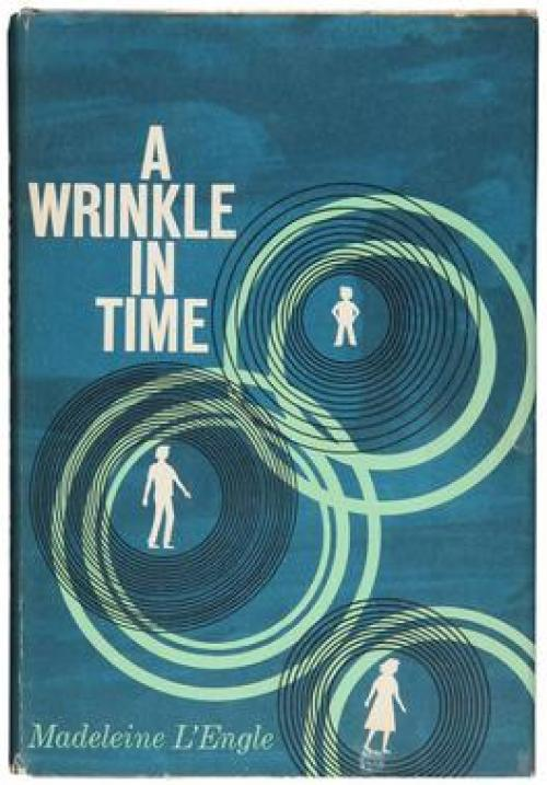 Vintage Book Cover: A Wrinkle in Time
